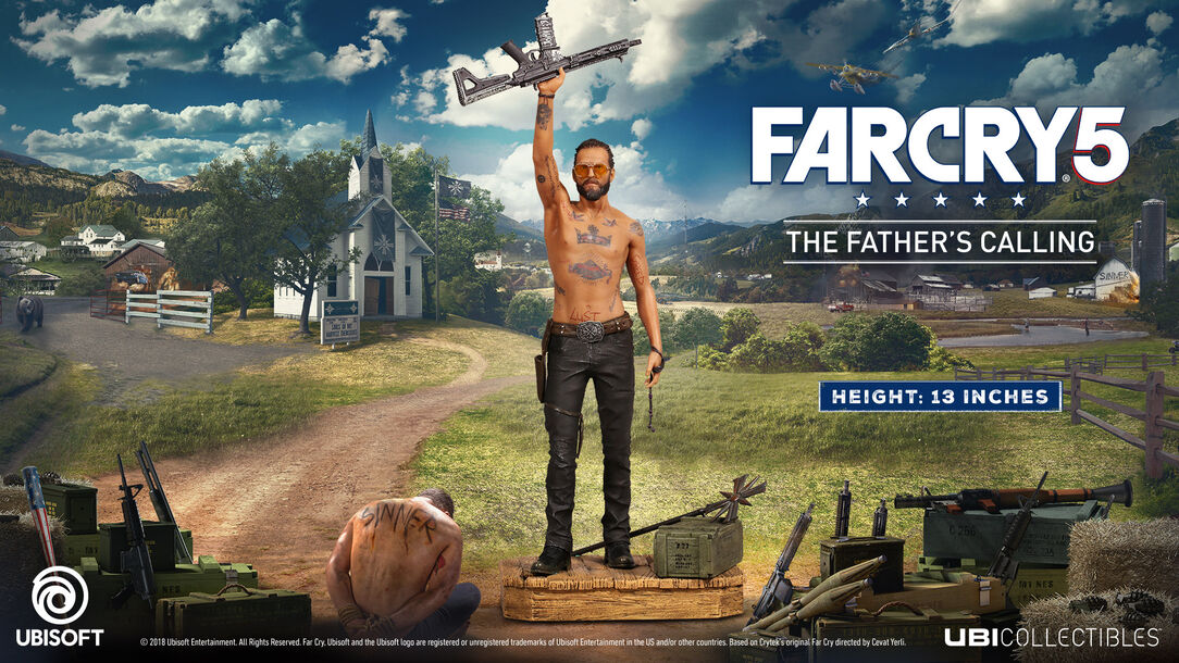 Far cry 5 joseph figurine the fathers calling ubisoft store far cry 5 joseph figurine the fathers calling large stopboris Images
