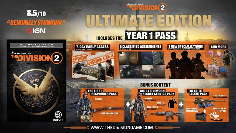 Tom Clancy's The Division 2⢠- Ultimate Edition, , large