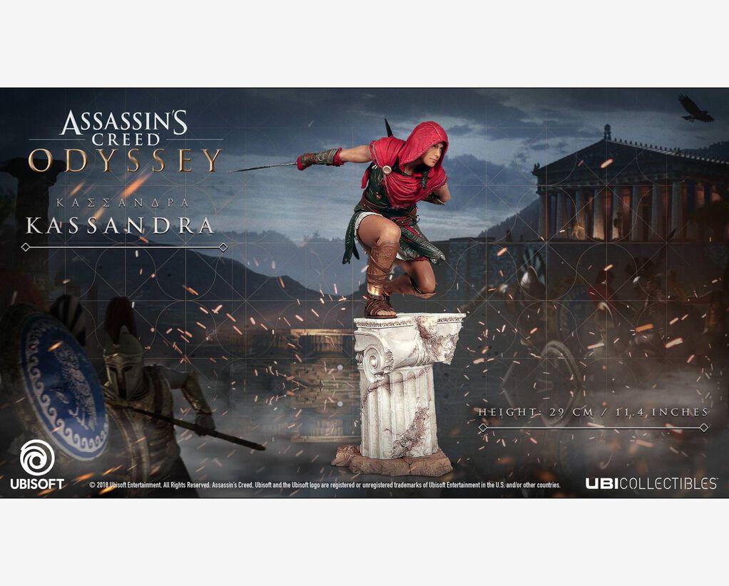 Assassin's Creed Odyssey | Kassandra Figurine | Ubisoft Store
