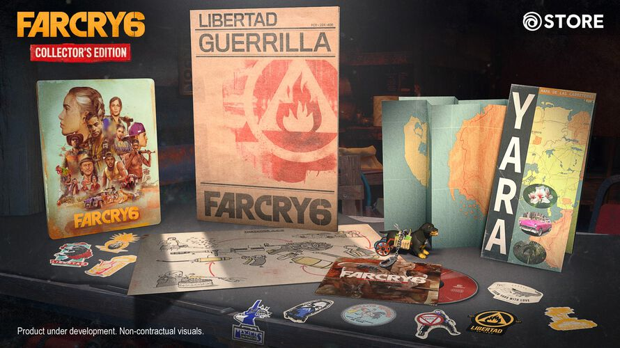 Pre Order Far Cry 6 Collector S Edition Ubisoft Store