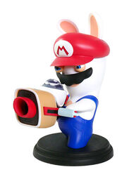 Mario + Rabbids Kingdom Battle: Rabbid Mario 6'' Figurine, , large