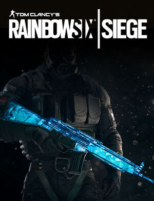 Tom Clancy's Rainbow Six Siege - Cobalt Weapon Skin, , large