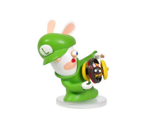 Mario + Rabbids Kingdom Battle: Rabbid Luigi 3'' Figurine, , large