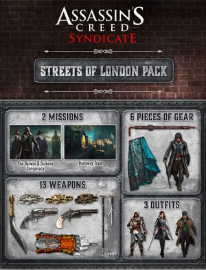 Assassin's Creed® Syndicate® - 런던의 거리 팩 - DLC, , large