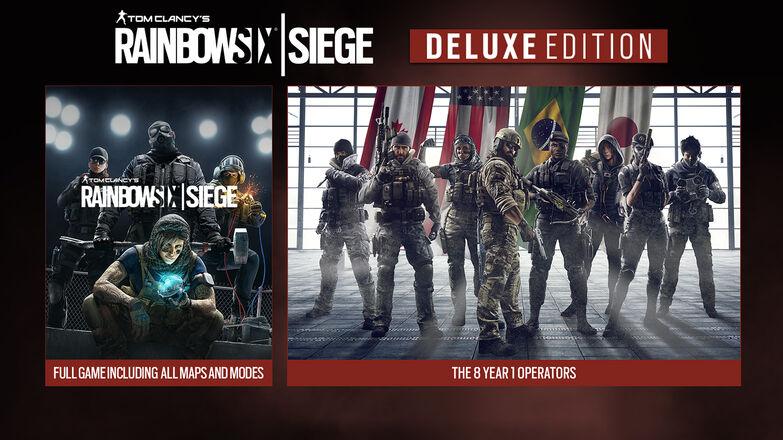 Tom Clancy's Rainbow Six Siege Deluxe Edition