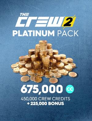 Платиновый набор кредитов команды The Crew 2, , large