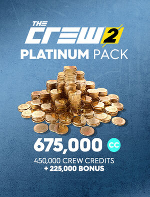The Crew® 2 플래티넘 크레디트 팩, , large