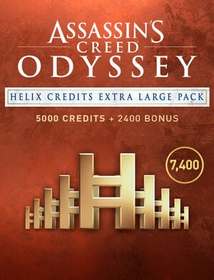 Assassin's Creed Odyssey - PACK EXTRA LARGE DE CRÉDITS HELIX, , large