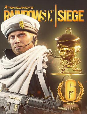 Tom Clancy's Rainbow Six Siege: Pro League Lion Set