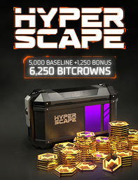 Hyper Scape 6250 Bitcrowns, , large
