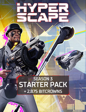 Hyper Scape – Season 3 Starter Pack Box Art