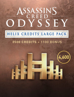 Assassin's Creed Odyssey - CRÉDITOS DE HELIX - PAQUETE GRANDE, , large
