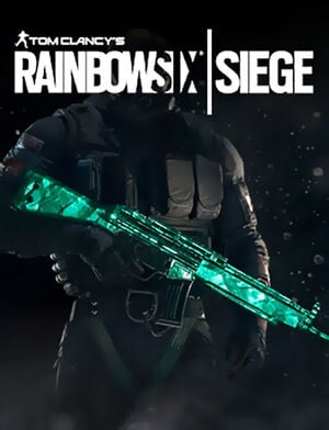 Tom Clancy's Rainbow Six Siege - Emerald Weapon Skin, , large
