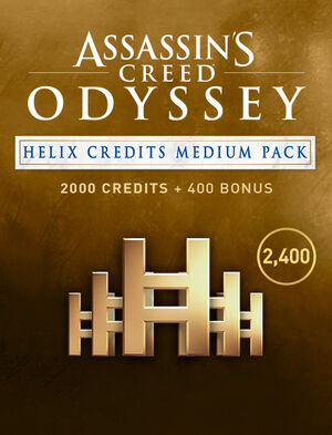 Assassin's Creed Odyssey - CRÉDITOS DE HELIX - PAQUETE MEDIANO, , large