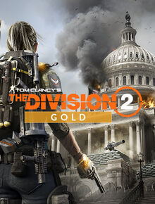 Tom Clancys The Division 2 Gold Steelbook Edition