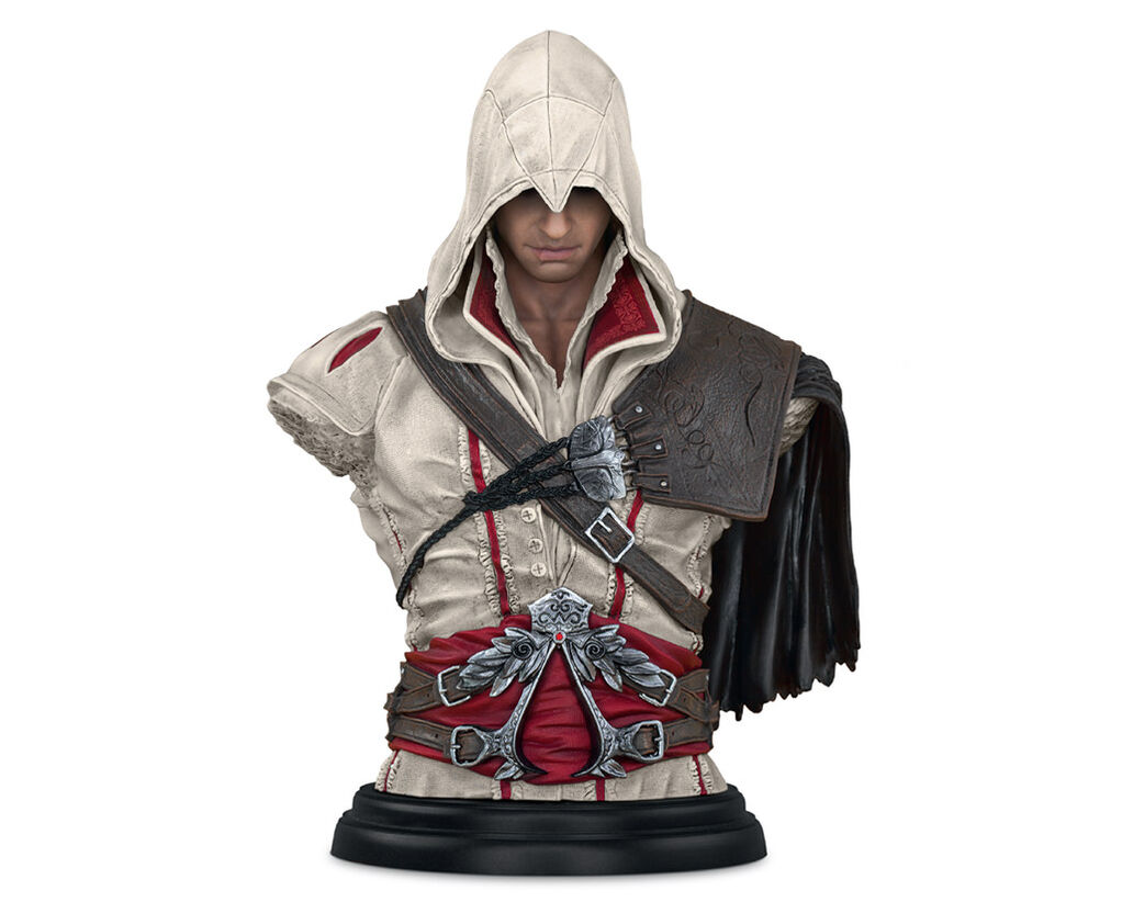 assassin 39 s creed legacy collection ezio auditore bust. Black Bedroom Furniture Sets. Home Design Ideas