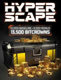 Hyper Scape 13500 Bitcrowns, , large