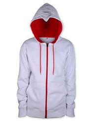 Assassin's Creed Beaked Zip Hoodie - White, , large