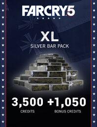 Far Cry® 5 XL Silver Bar Pack – 4,550 Credits, , large