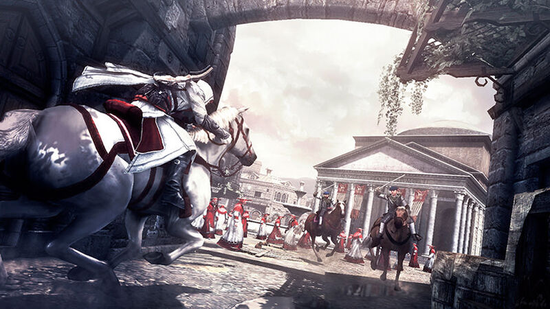 Buy Assassin S Creed Brotherhood Deluxe Edition For Pc Ubisoft
