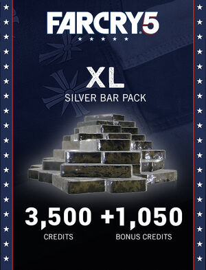 Far Cry® 5 XL Silver Bar Pack – 4,550 Credits, , large