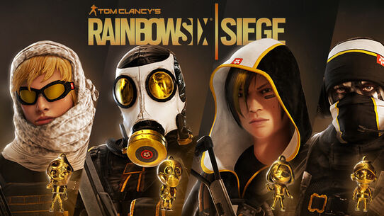 Tom Clancy's Rainbow Six® Siege: Pro League All Gold Sets, , large