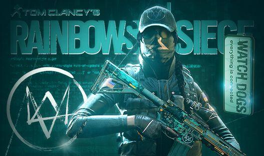 Tom Clancy's Rainbow Six Siege - Ash Watch_Dogs Set, , large