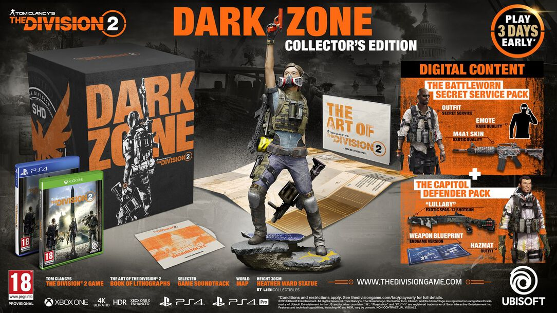 Missing Edition (Not Yet Released) The Division 2 - Dark Zone