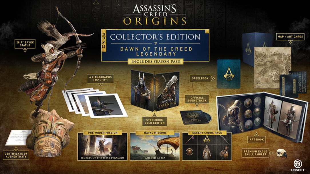 buy assassin s creed dawn of the creed legendary collector s