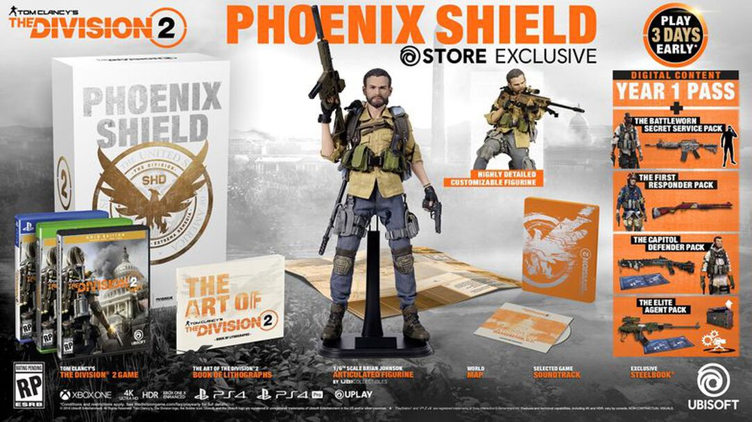 Missing Edition (Not Yet Released) The Division 2 - Phoenix