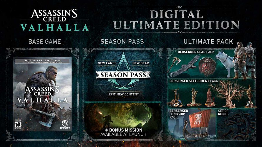 Buy Assassin S Creed Valhalla Ultimate Edition Ubisoft Official Store Us