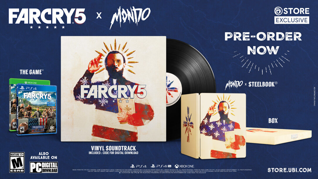 Far Cry 5 X Mondo Limited Edition Now Available to Pre-order