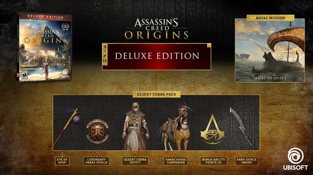 Buy Assassin's Creed® Origins Deluxe Edition for PS4, Xbox