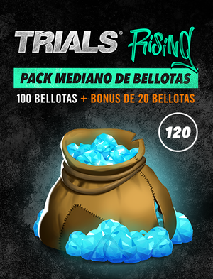 Trials Rising Pack mediano de bellotas, , large