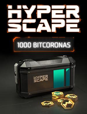 HYPER SCAPE 1 000 bitcoronas, , large