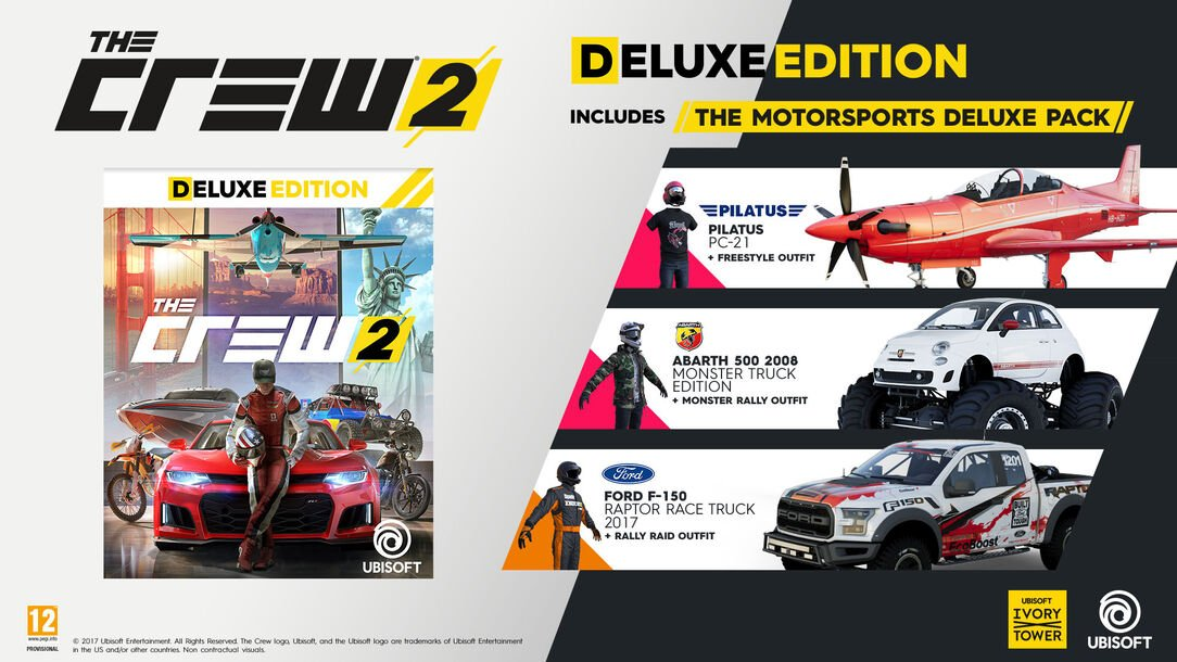 acheter the crew 2 edition deluxe pour ps4 xbox one et pc boutique officielle ubisoft. Black Bedroom Furniture Sets. Home Design Ideas