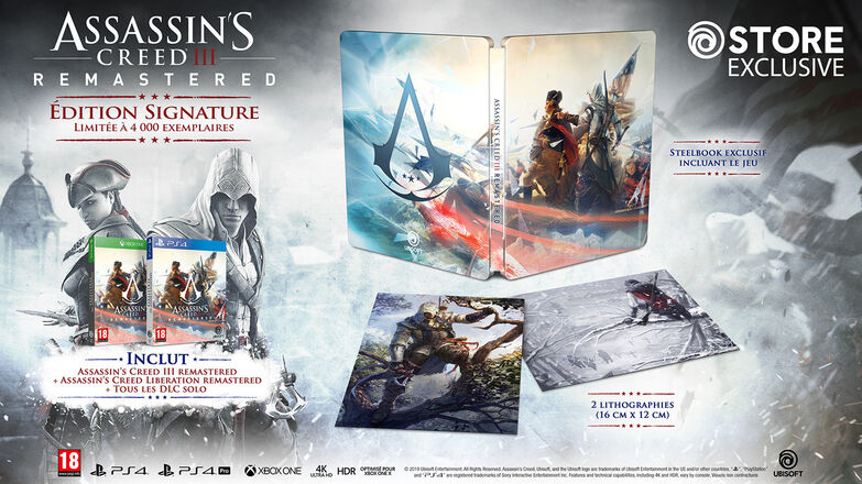 [2019-03-29] Assassin's Creed III edition signature ps4/Xone 5c4b0e014e0165d6f4eea54d-1.2