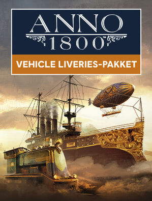 Anno 1800 Vehicle Liveries-pakket, , large