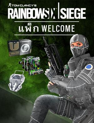 Tom Clancy's Rainbow Six® Siege แพ็ก Welcome, , large