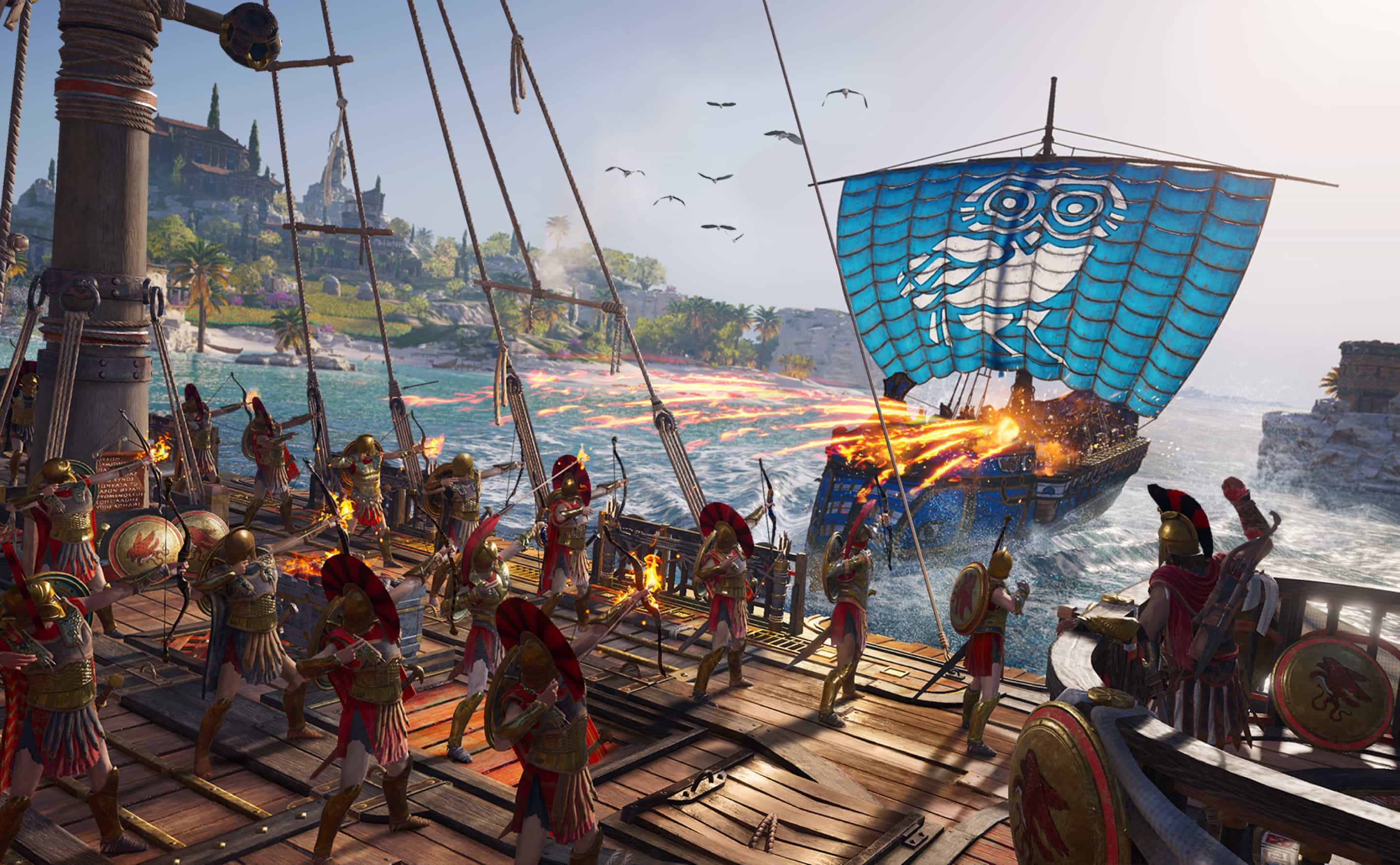 Test Assassin's Creed Odyssey Test 3