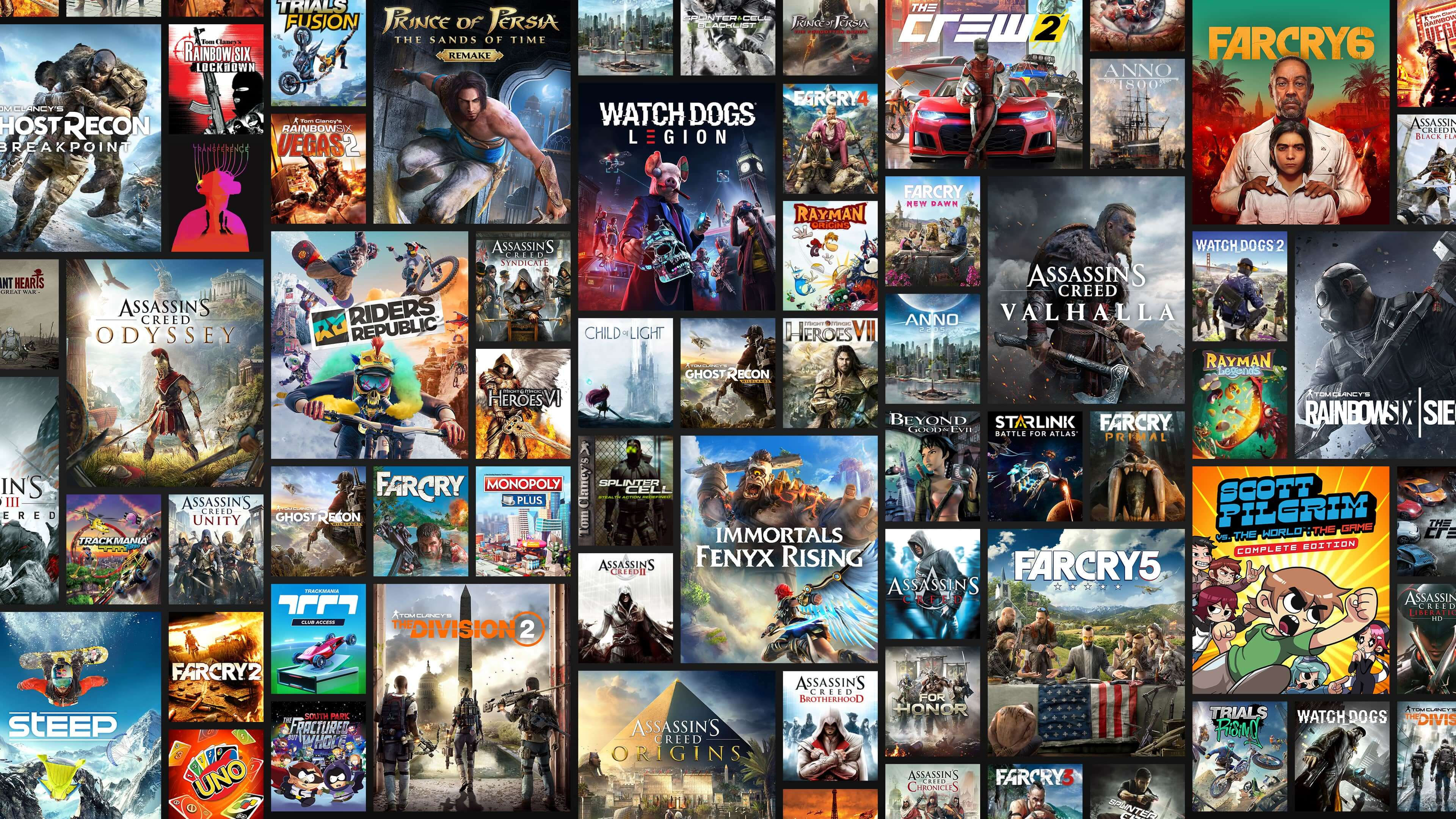 See the full list of games included with Ubisoft+