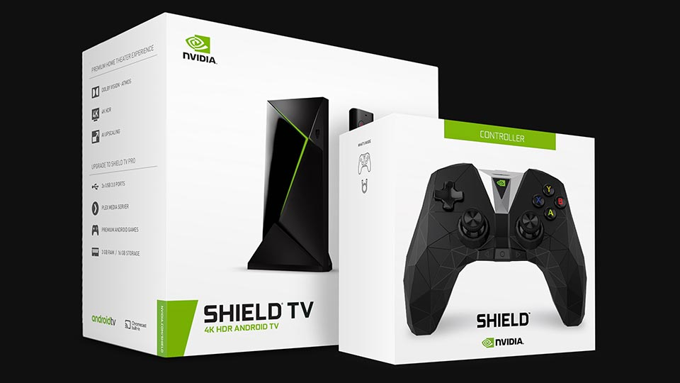 NVIDIA® SHIELD® TV PRO + SHIELD CONTROLLER