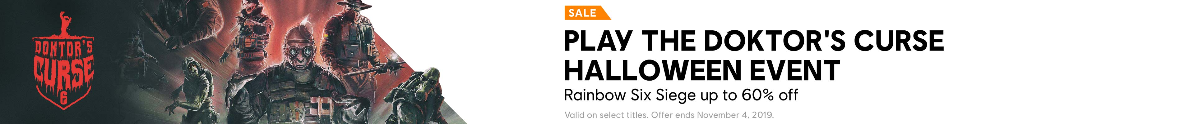 Halloween Sale Category banner