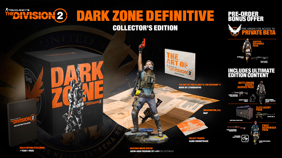 DARK ZONE DEFINITIVE COLLECTOR'S EDITION