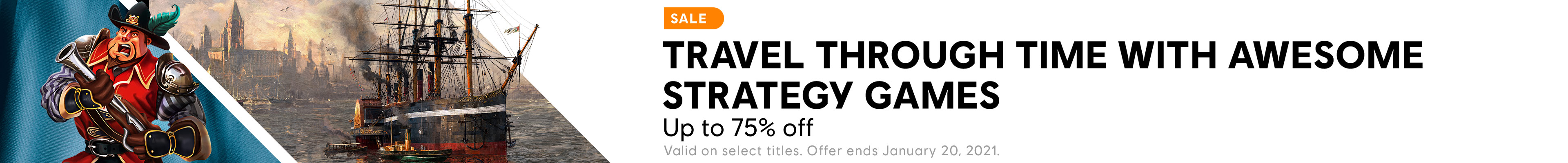 Strategy Sale Category banner