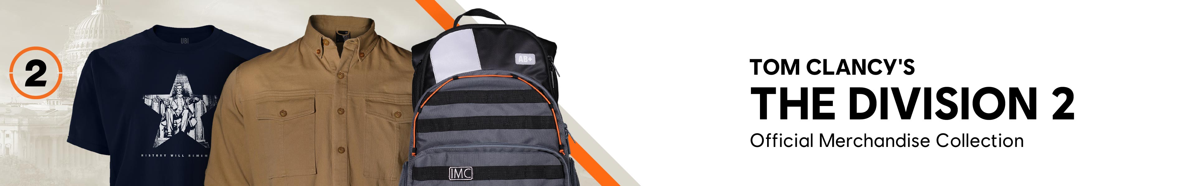 The Division 2 Merch New Banner