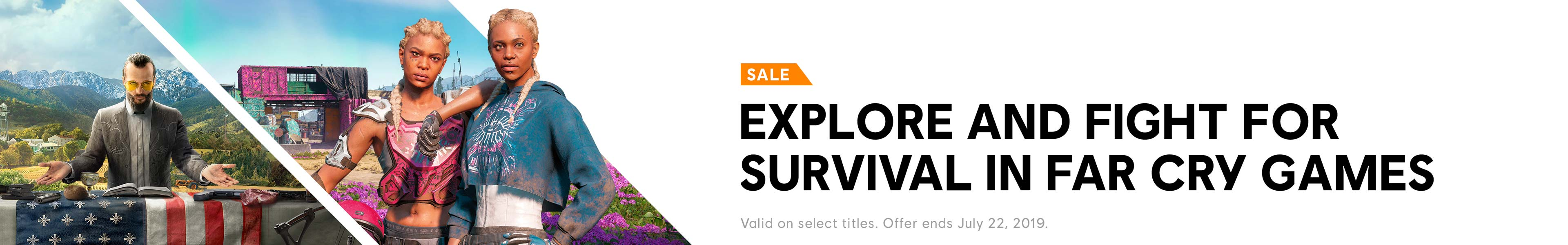 Far Cry Sale Category banner