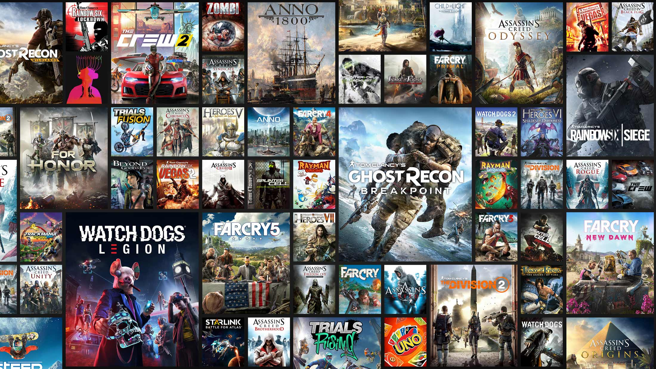 See the full list of games included with UPLAY+