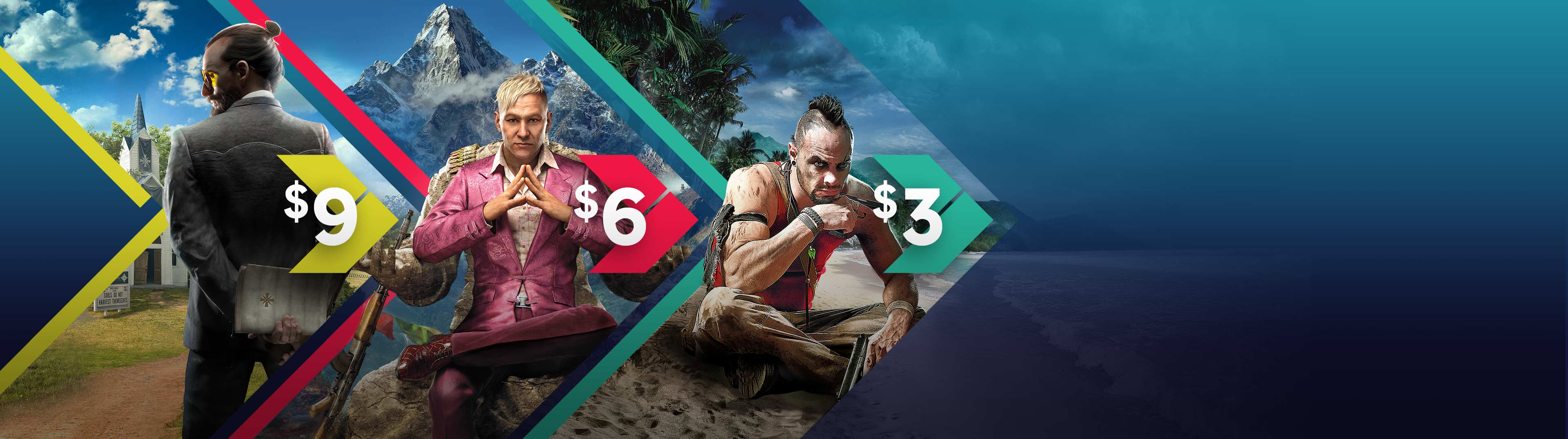 INCREDIBLE DEALS ON ICONIC FAR CRY GAMES