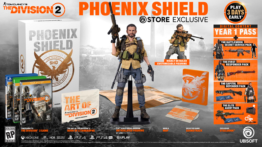 PHOENIX SHIELD COLLECTOR'S EDITION
